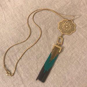 Custom Made Boho Mandala & Tribal Chain Necklace